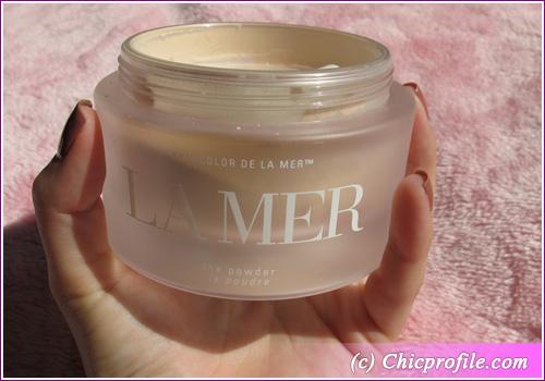La Mer cor da pele coleção Pó grande jarra de La Mer Pó da cor da pele comentário Collection, Fotos, Fotos & Swatches Makeup