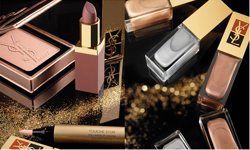 Yves Saint Laurent Holiday 2010 Colorama Collection products Yves Saint Laurent Metallic Colorama Collection for Holiday 2010 New Photos