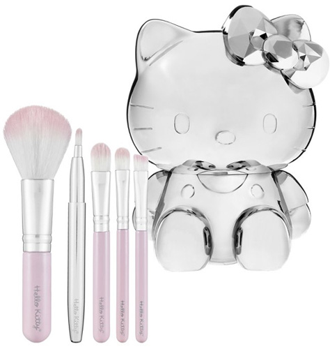 Hello Kitty 2011 Collection brushes Hello Kitty Collection for Spring 2011   Limited Edition
