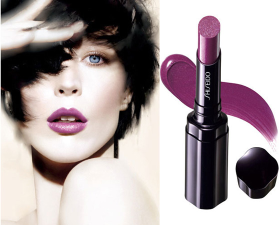 Shiseido 2011 Spring Summer Lipstick Shimmering Rouge promo Shiseido Makeup Collection for Spring   Summer 2011   Sneak Peek & Promo Photos