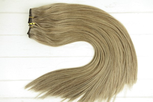 #18_Dirty_Blonde_Clip_In_Hair_Extensions_Human_Remy_Double_Drawn_Chicsy_Hair_resize
