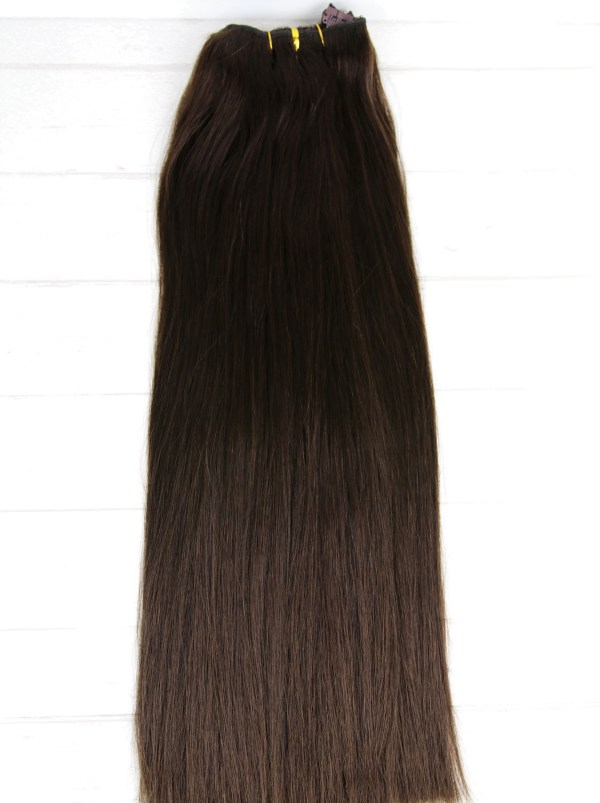 #2_Dark_Brown_Clip_In_Hair_Extensions_Human_Remy_Double_Drawn_Chicsy_Hair_3_resize