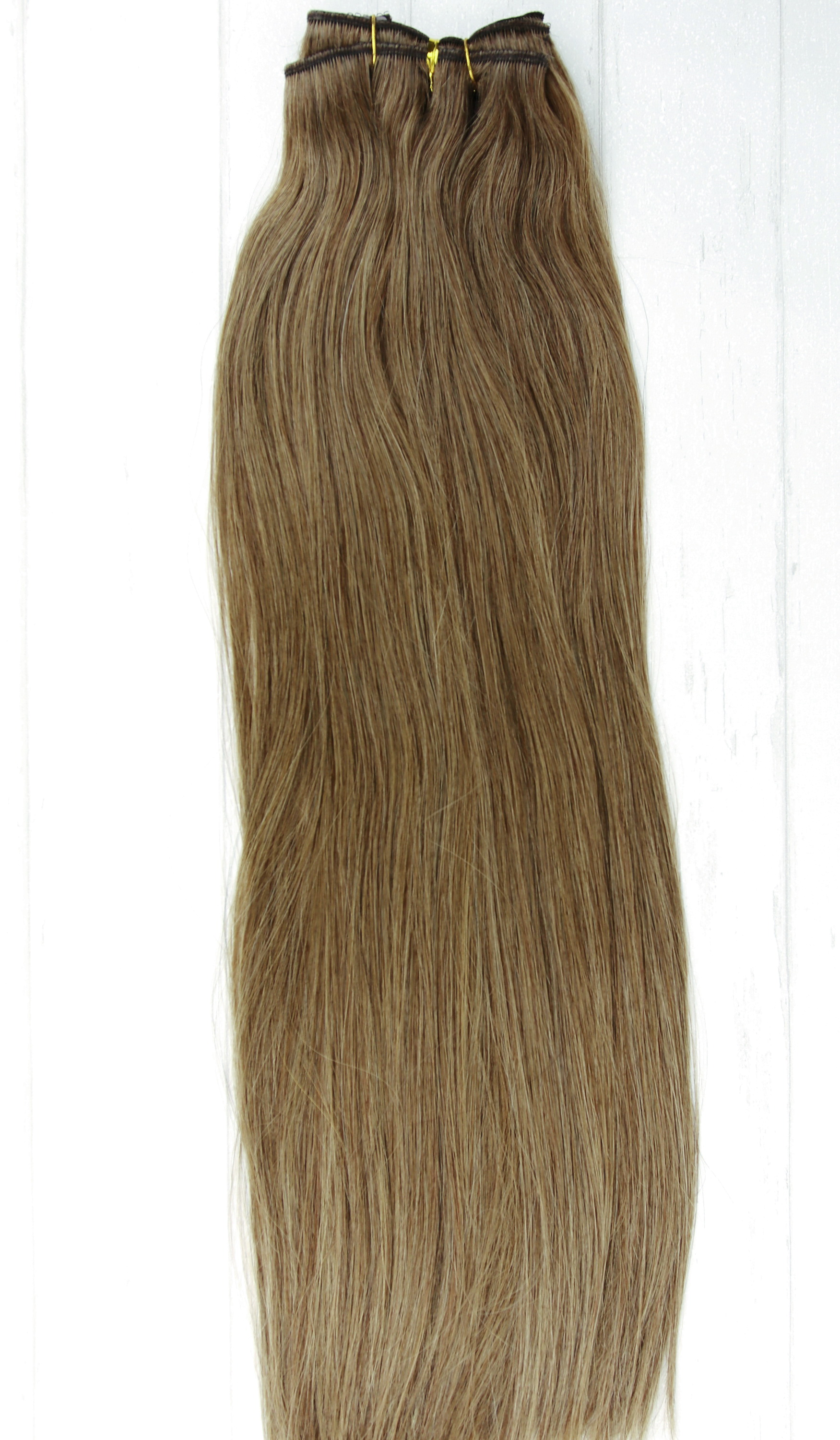 8 Light Brown Clip In Hair Extensions 120g 380g 26 28 30 Inches