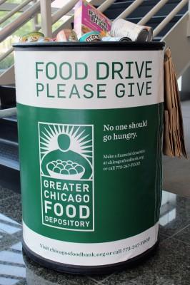 GCFD 2013 Food Drive Barrels
