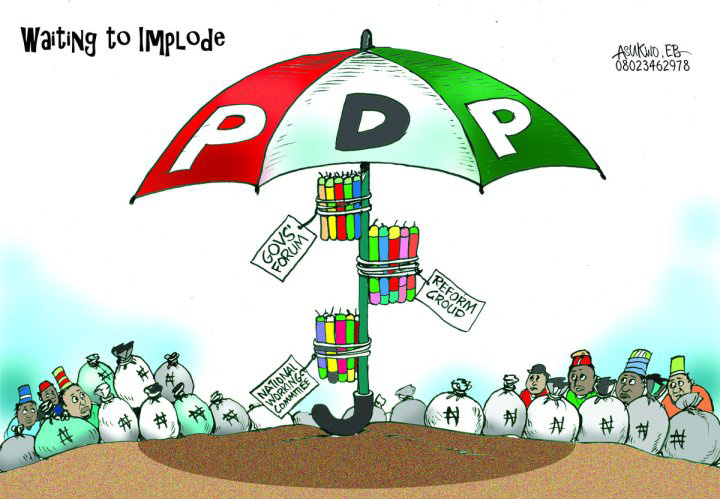 14 YEARS OF PDP; 13 YEARS OF NATIONAL CALAMITY