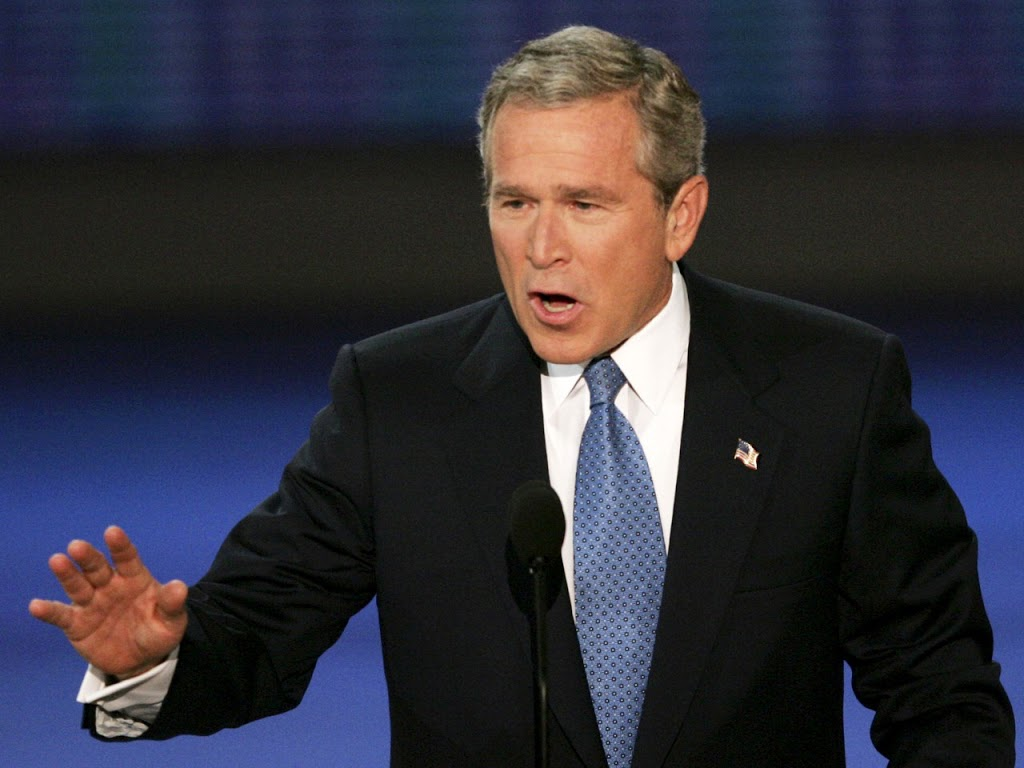 US Election 2012: George Bush Accidentally Voted For Obama