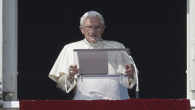 Pope Benedict resigned after being handed report into gay sex and corruption in Vatican