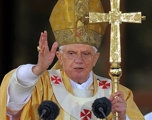 Pope Benedict stepping down, cites poor health
