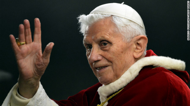 "Pope Benedict XVI says a big no to the ""big man"" syndrome"