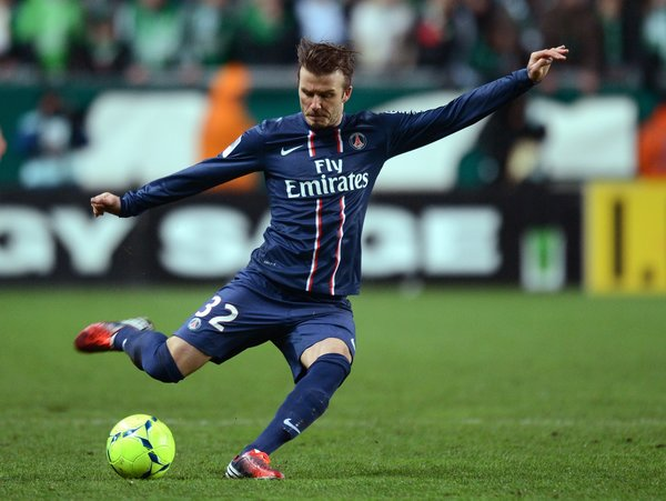 Accolade as iconic David Beckham retires