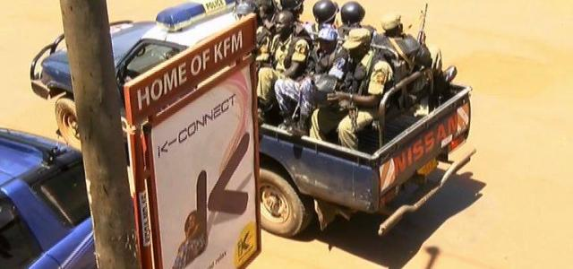 Ugandan independent media gagged, under siege