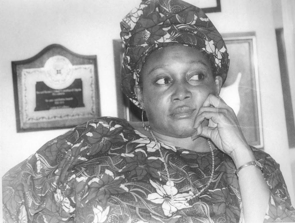 Democracy heroine, Kudirat Abiola, 1951-1996