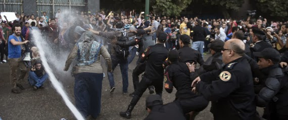 Some Egyptians fear the return of repression they revolted against
