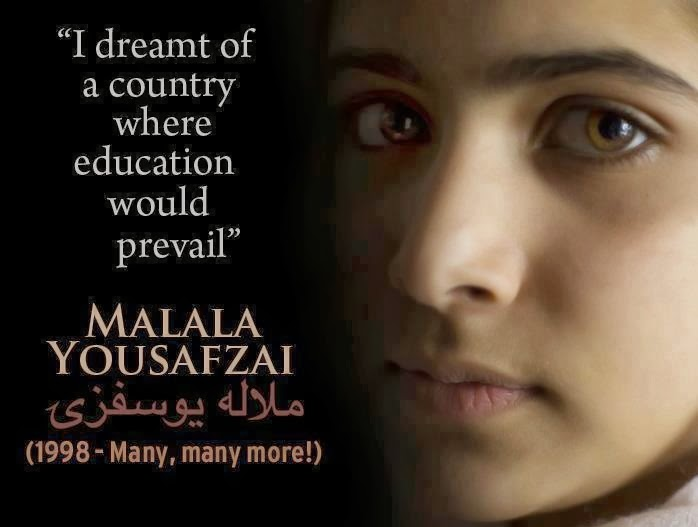 Malala: Bravest girl in the world