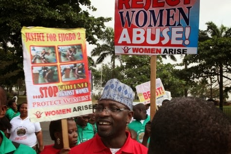 Nigeria: Women Arise protests violent sexual torture of two market women
