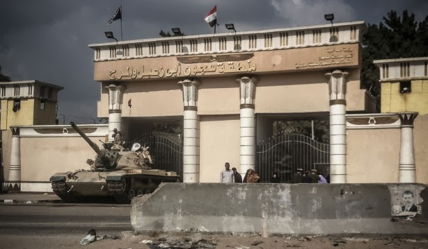 Repression deepens in Egypt
