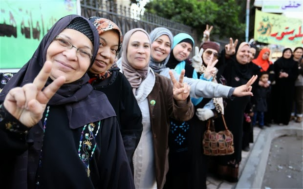Egyptian constitution backed by majority of voters