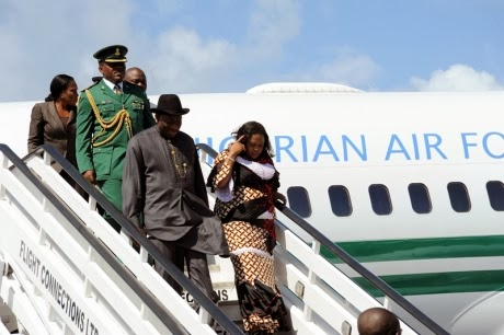 President Jonathan's wasteful spending on presidential aircraft fleet