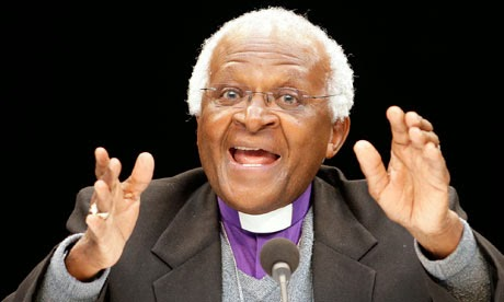 Desmond Tutu compares Uganda's anti-gay bill with Hitler's behaviour in Nazi Germany