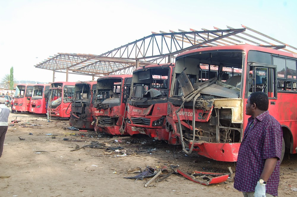 Nyanya bomb blast and the fight against terrorism in Nigeria