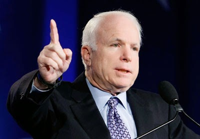 The outrage that is John McCain: #bringbackourgirls
