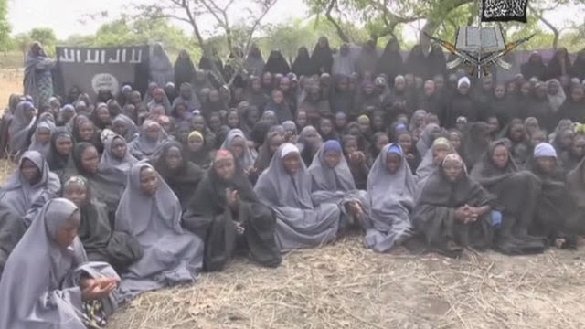 Nigeria kidnapped girls 'shown in Boko Haram video'