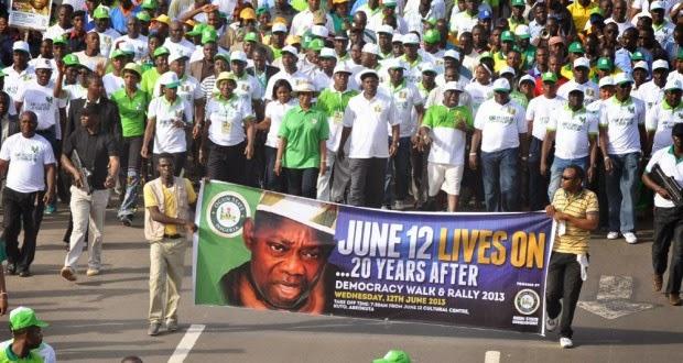 June 12, 21 years after: Nigeria sitting on a keg of gun powder