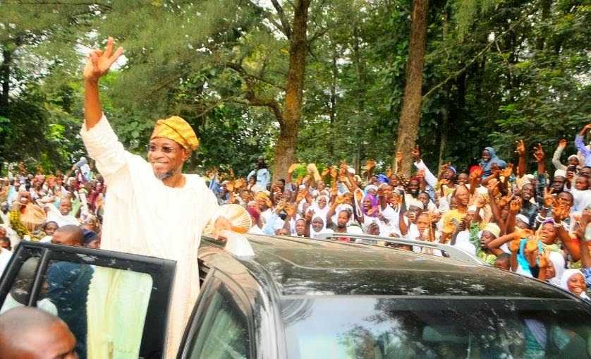 Gov. Aregbesola's speech on his re-election