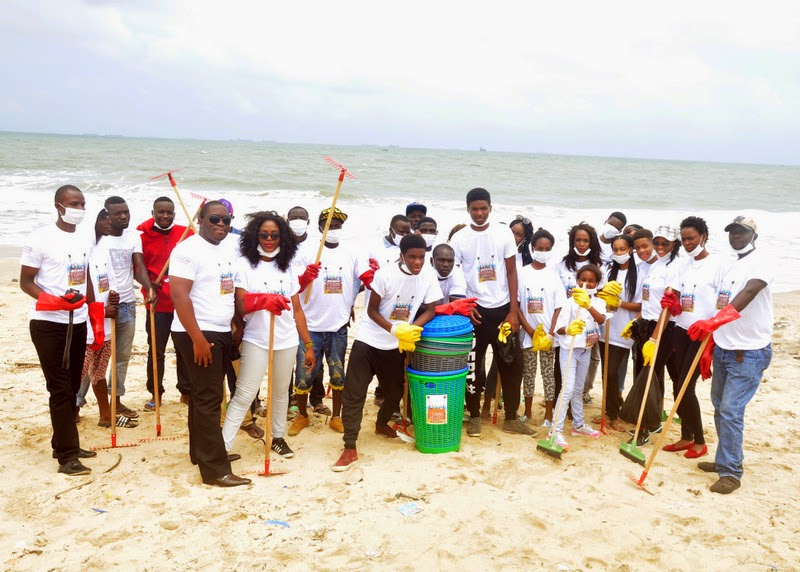 """Natse and Totse """"beach clean-up"""""""