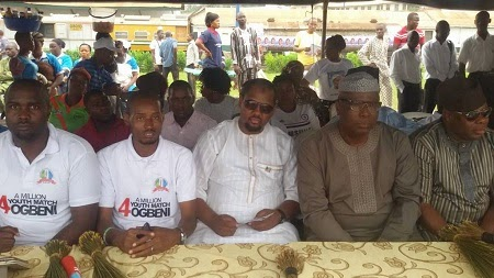 Osun election: APYF stages 'one million' youth march for Gov. Aregbesola
