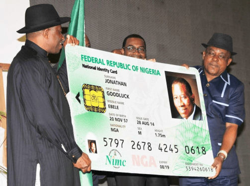 National security, fraud implications of Nigeria's electronic I.D card