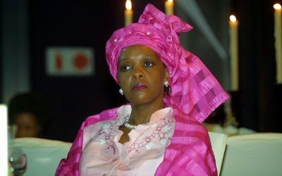 Grace Mugabe in academic storm after receiving PhD
