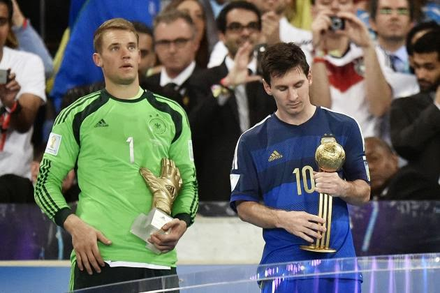FIFA World Cup Golden Ball award for Lionel Messi 'incorrect' - Sepp Blatter