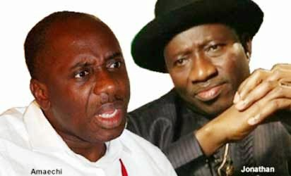 Stop political rascality and blackmail, President Jonathan warns Gov Amaechi