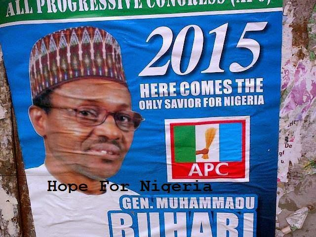 2015: A word for Gen Buhari