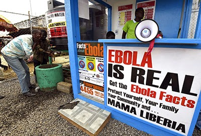 In Ebola-stricken countries, authorities and journalists should work together