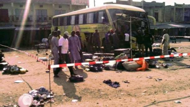 Scores killed in Nigeria mosque suicide blasts