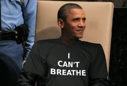 Obama wears 'I Can't Breathe' shirt to Congressional swearing-in ceremony