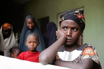 Children living in fear in northeastern Nigeria