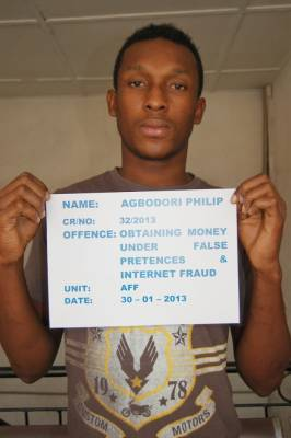 Internet fraudster bags two years imprisonment