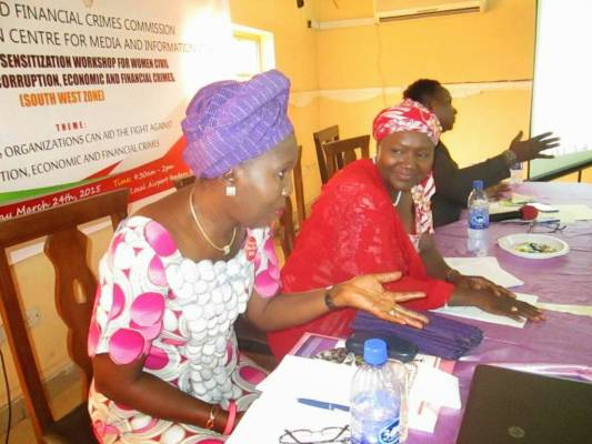 Lamorde tasks women to lead the fight against corruption