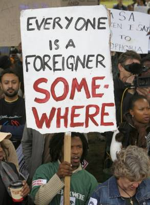 Xenophobia: The fear of difference