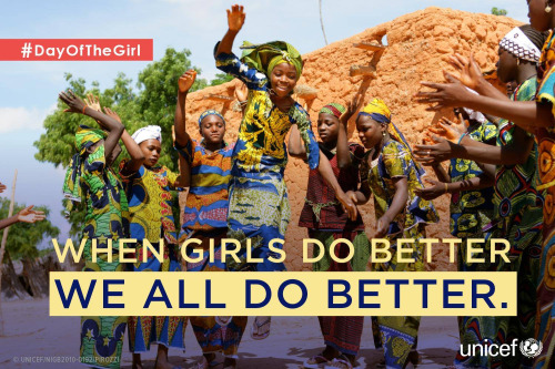 Investing in adolescent girls has benefits for all - UNICEF