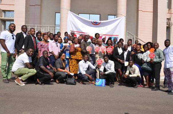 Devatop Centre for Africa Development trains 68 law enforcement agents, legal practitioners, youths, educators, community volunteers, religious groups and journalists on anti-human trafficking advocacy