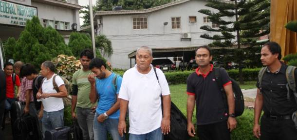Nine foreigners bag five years in jail for illegal oil bunkering