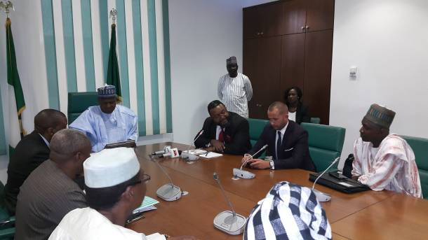 Dogara (@SpeakerDogara) receives first Black MP in Poland, assures investors of government's resolve to eliminate corruption in business
