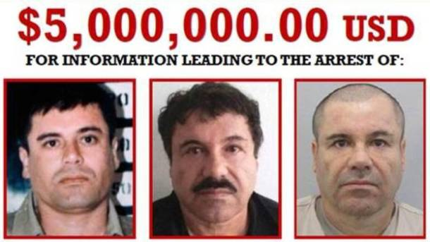Mexican drug lord, Joaquin 'El Chapo' Guzman, recaptured six months after escape from a maximum-security jail