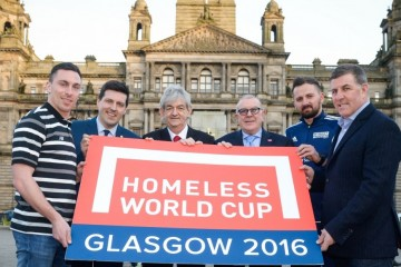 Nigeria joins 50 countries to play in Glasgow 2016 Homeless World Cup