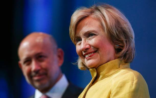 The problem with Hillary Clinton isn't just her corporate cash. It's her corporate worldview