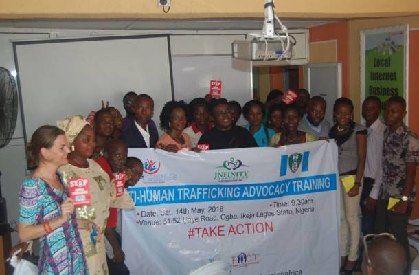 Devatop Centre for Africa Development holds anti-human trafficking advocacy training